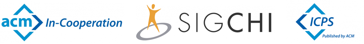 ACM in-cooperation with SIGCHI and Digital Library logos